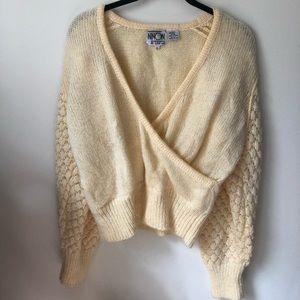 Vintage Yellow Sweater 😊